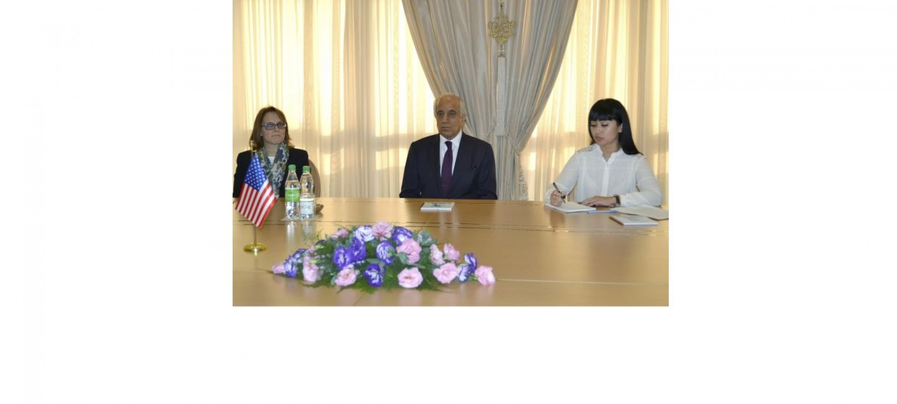 Meeting with the US Special Representative for Afghanistan