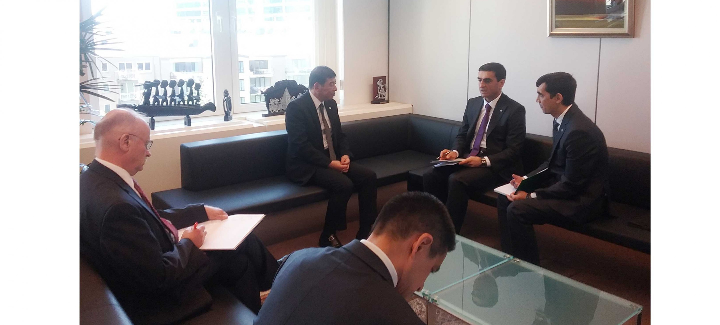 DELEGATION OF TURKMENISTAN MET WITH THE SECRETARY GENERAL OF THE WORLD CUSTOMS ORGANIZATION