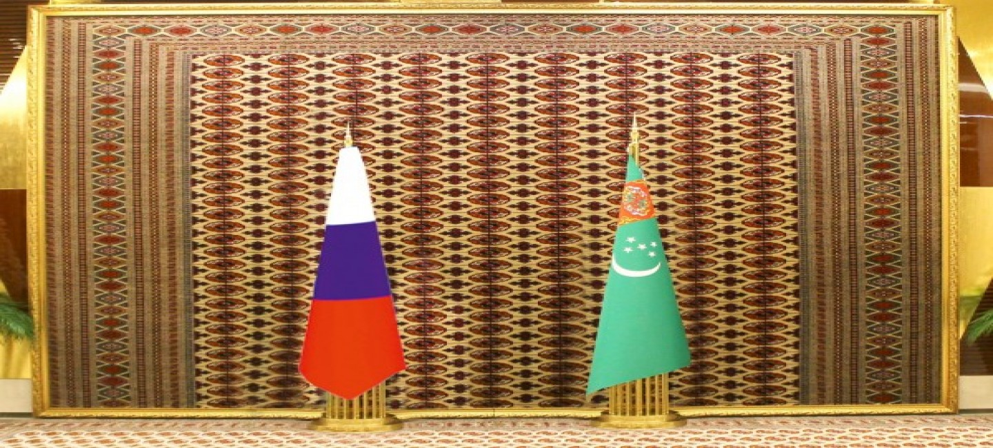 The meeting of the President of Turkmenistan with the President of the Russian Federation was held in Ashkhabad