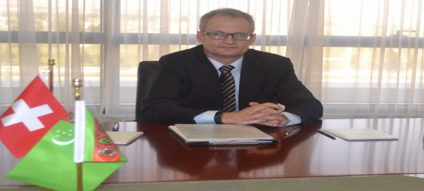 Ambassador of Switzerland completes his diplomatic mission in Turkmenistan