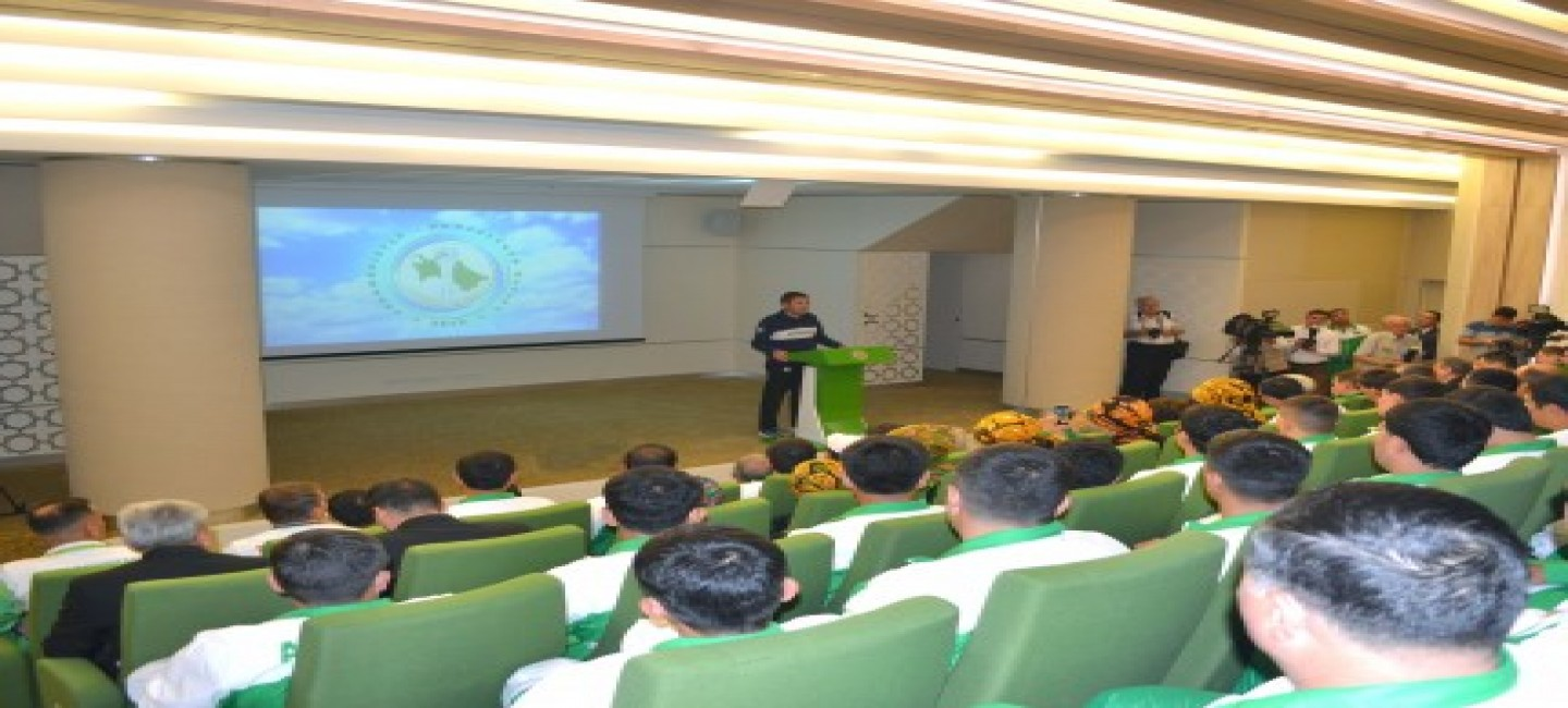 Briefing dedicated to the achievements of Turkmenistan in cycling