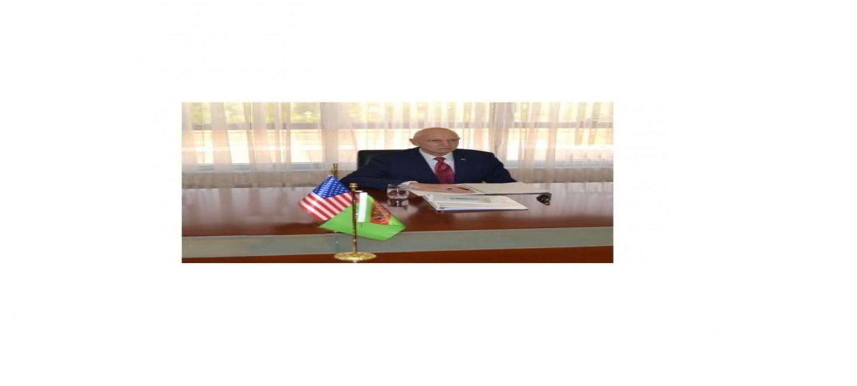 ВСТРЕЧА С ПОСЛОМ США В ТУРКМЕНИСТАНЕ