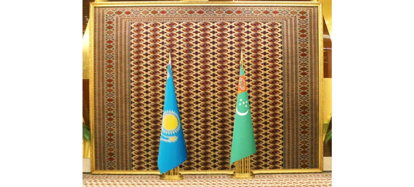 Leaders of Turkmenistan and Kazakhstan discussed the issues of developing strategic partnership