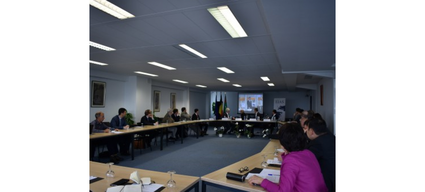 A round table meeting dedicate to the First Caspian Economic Forum was held in Brussels