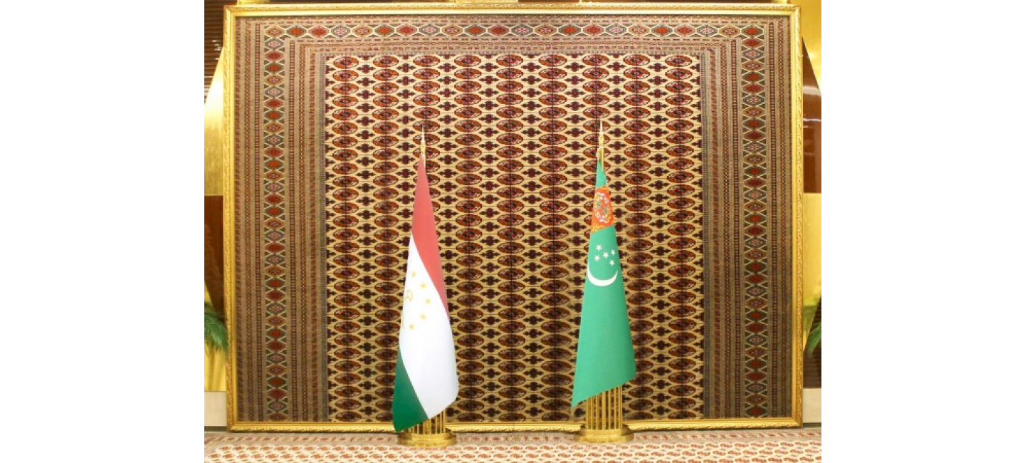The meeting of the leaders of Turkmenistan and Tajikistan was held