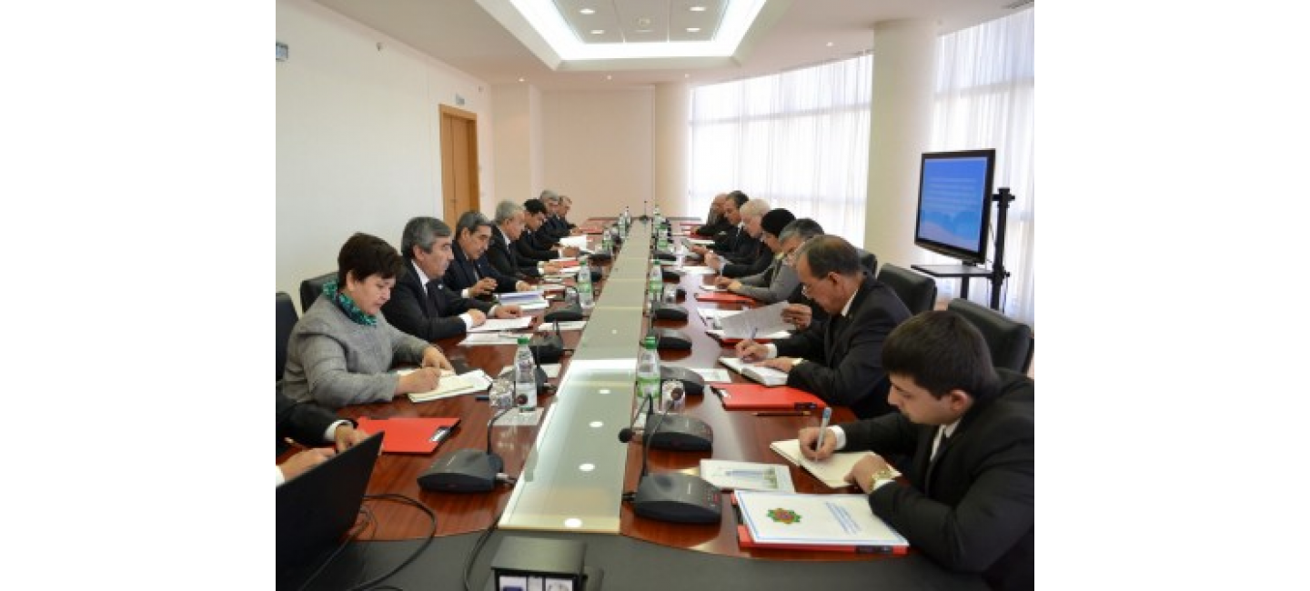 """THE OUTCOMES OF THE HIGH-LEVEL CONFERENCE """"GREEN CENTRAL ASIA"""" AND A MEETING OF THE EU-CA WORKING GROUP ON ENVIRONMENT AND CLIMATE CHANGE HELD IN THE MFA OF TURKMENISTAN"""