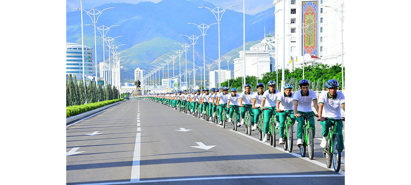 World Bicycle Day was celebrated in Turkmenistan